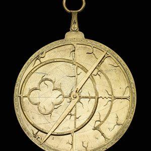 Astrolabe, Angleterre, 1342